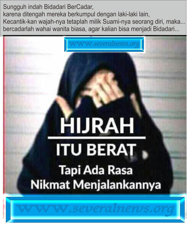 Kata Kata Mutiara Romantis Islami Bercadar Cadar Wanita